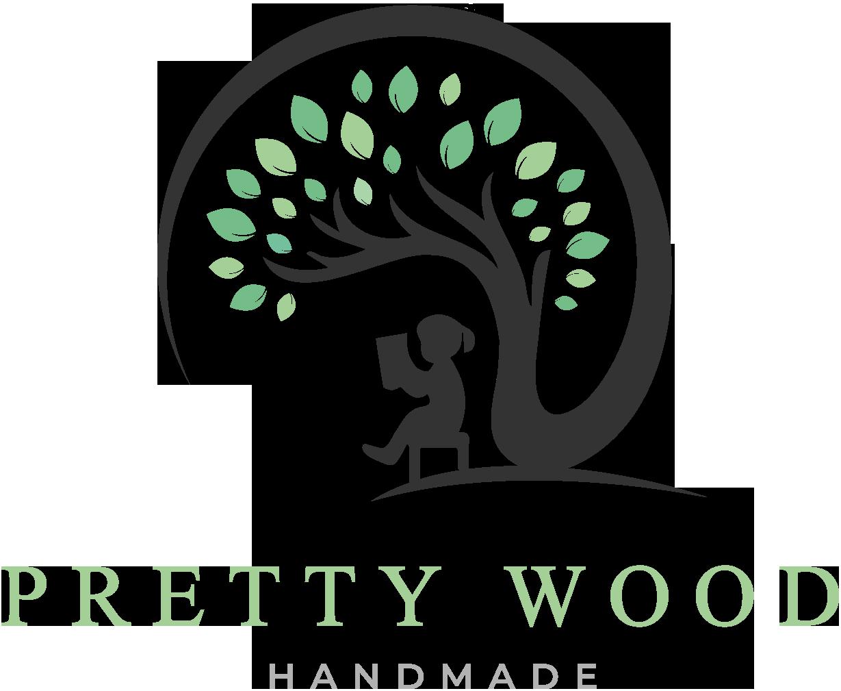 Pretty Wood Logo